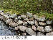 Купить «Соловецкие острова. Берег канала между озерами.», фото № 1153018, снято 12 сентября 2009 г. (c) Михаил Ворожцов / Фотобанк Лори