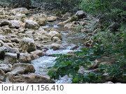 Горная река. Стоковое фото, фотограф Анна Збожинская / Фотобанк Лори