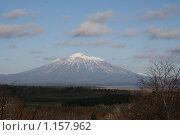 Купить «Вулкан Тятя в ноябре», фото № 1157962, снято 12 ноября 2008 г. (c) BELY / Фотобанк Лори