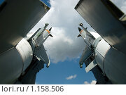 Купить «Ракеты», фото № 1158506, снято 12 августа 2009 г. (c) Евгений Савенков / Фотобанк Лори