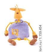 Мягкая игрушка-корова. Стоковое фото, фотограф Тимур Аникин / Фотобанк Лори
