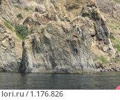 Скала Слон потухшего вулкана Кара-Даг (вид с моря) (2009 год). Стоковое фото, фотограф Татьяна Емельянова / Фотобанк Лори