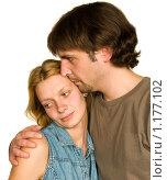 Печальная пара. Стоковое фото, фотограф Оксана Якупова / Фотобанк Лори