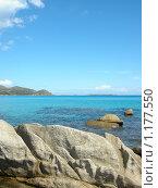 Купить «Вид на море с берега», фото № 1177550, снято 20 сентября 2009 г. (c) Neta / Фотобанк Лори
