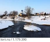 Купить «Зимний пейзаж», фото № 1179390, снято 13 ноября 2018 г. (c) Полина Столбушинская / Фотобанк Лори
