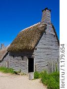 Купить «Старый деревянный дом», фото № 1179654, снято 14 августа 2009 г. (c) Тимофей Косачев / Фотобанк Лори