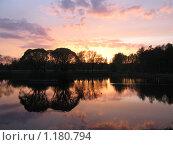 Купить «Питерский закат», фото № 1180794, снято 10 мая 2009 г. (c) Любецкая Марина / Фотобанк Лори