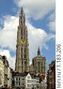 Купить «Кафедральный собор Богоматери. г. Антверпен. Бельгия», фото № 1183206, снято 2 мая 2008 г. (c) Татьяна Федулова / Фотобанк Лори