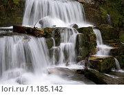 Купить «Водопад», фото № 1185142, снято 7 августа 2009 г. (c) Марченко Дмитрий / Фотобанк Лори