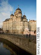 Купить «Иоанновский монастырь на реке Карповке. Санкт-Петербург», эксклюзивное фото № 1185566, снято 31 октября 2009 г. (c) Александр Алексеев / Фотобанк Лори