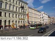 Невский проспект (2009 год). Редакционное фото, фотограф Антон Тимохин / Фотобанк Лори
