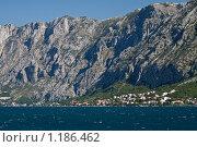 Купить «Горы, Которский залив, Черногория», фото № 1186462, снято 7 сентября 2009 г. (c) Сергей Бесчастный / Фотобанк Лори
