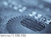 Купить «Кредитная карта. Макро», фото № 1190150, снято 23 октября 2009 г. (c) Петр Кириллов / Фотобанк Лори