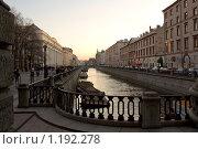 Санкт-Петербург. Вид на канал Грибоедова (2009 год). Редакционное фото, фотограф Алексей Артамонов / Фотобанк Лори
