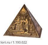 Купить «Египетская пирамида», фото № 1193022, снято 20 сентября 2018 г. (c) Дмитрий Павлович / Фотобанк Лори