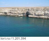 Купить «Водный пейзаж в Крыму», фото № 1201394, снято 5 августа 2007 г. (c) Мария Дидиченко / Фотобанк Лори
