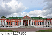 Купить «Кусково, Большой дворец», фото № 1207950, снято 1 октября 2009 г. (c) Анна Маркова / Фотобанк Лори
