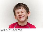 Купить «Хитрый мальчик», фото № 1209742, снято 7 ноября 2009 г. (c) Александр Трушкин / Фотобанк Лори