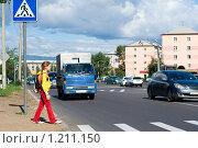 Купить «Осторожно - дети!», фото № 1211150, снято 27 августа 2009 г. (c) Александр Подшивалов / Фотобанк Лори