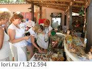 Купить «В сувенирной лавке», фото № 1212594, снято 4 августа 2009 г. (c) Александр Демин / Фотобанк Лори