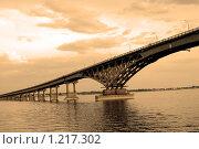 Купить «Старый мост. Саратов.», фото № 1217302, снято 17 июня 2006 г. (c) Катя Белякова / Фотобанк Лори