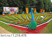 Купить «Ландшафтный дизайн в парке Кузьминки», эксклюзивное фото № 1218478, снято 4 июля 2009 г. (c) lana1501 / Фотобанк Лори