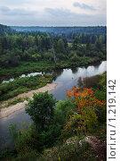 Купить «Осенний пейзаж в природном парке Оленьи Ручьи, Свердловская область», фото № 1219142, снято 7 сентября 2008 г. (c) Антон Бобров / Фотобанк Лори