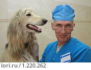 Купить «Добрый доктор Айболит», фото № 1220262, снято 8 июля 2009 г. (c) Галина Бурцева / Фотобанк Лори