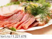 Рыбное ассорти. Стоковое фото, фотограф Андрей Багаев / Фотобанк Лори