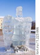 Купить «Ледяная скульптура», фото № 1223666, снято 7 февраля 2009 г. (c) ElenArt / Фотобанк Лори