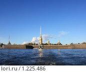 Купить «Вид на Петропавловскую крепость», фото № 1225486, снято 11 октября 2009 г. (c) Татьяна Иванова / Фотобанк Лори
