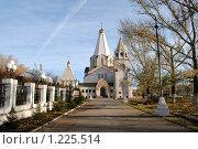 Церковь Святой Троицы в Балаково. Стоковое фото, фотограф Андрей Кириллов / Фотобанк Лори