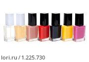 Купить «Лак для ногтей», фото № 1225730, снято 14 ноября 2009 г. (c) Руслан Кудрин / Фотобанк Лори