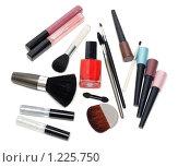 Купить «Набор косметики», фото № 1225750, снято 14 ноября 2009 г. (c) Руслан Кудрин / Фотобанк Лори