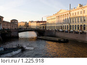 Санкт-Петербург. Вид на реку Мойку (2009 год). Стоковое фото, фотограф Алексей Артамонов / Фотобанк Лори