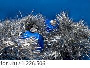 Купить «Новогодние украшения», фото № 1226506, снято 20 ноября 2009 г. (c) Asja Sirova / Фотобанк Лори