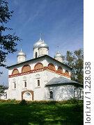 Купить «Старая Русса,  Церковь Святой Троицы,», фото № 1228038, снято 4 сентября 2009 г. (c) Александр Секретарев / Фотобанк Лори