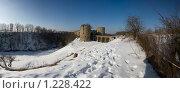Купить «Крепость Копорье», эксклюзивное фото № 1228422, снято 8 марта 2009 г. (c) Литвяк Игорь / Фотобанк Лори