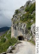 Черногория. Горная дорога. Туннель (2008 год). Стоковое фото, фотограф Павел Красихин / Фотобанк Лори