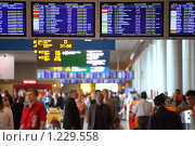 Купить «Зал аэропорта», фото № 1229558, снято 29 мая 2009 г. (c) Losevsky Pavel / Фотобанк Лори