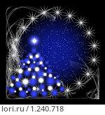 Купить «Рождественская открытка», иллюстрация № 1240718 (c) ElenArt / Фотобанк Лори