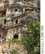 Ликийские гробницы (2009 год). Стоковое фото, фотограф Зоя Степанова / Фотобанк Лори