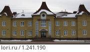 Железнодорожный вокзал города Чернушка (Пермский край) (2009 год). Редакционное фото, фотограф Андрей Гагарин / Фотобанк Лори