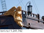 Купить «Крылатая дева. Украшение на борту парусника», эксклюзивное фото № 1241742, снято 8 августа 2009 г. (c) Александр Щепин / Фотобанк Лори