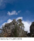 Каменный останец. Хребет Караташ. Башкирия. Южный Урал. Стоковое фото, фотограф хлебников алексей / Фотобанк Лори