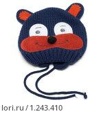 Купить «Детская шапка с мордой животного», фото № 1243410, снято 21 ноября 2009 г. (c) Руслан Кудрин / Фотобанк Лори
