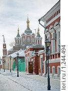 Купить «Кремль в Коломне», фото № 1244494, снято 5 января 2009 г. (c) Parmenov Pavel / Фотобанк Лори