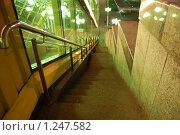 Лестница моста (2008 год). Стоковое фото, фотограф Климонтова Александра / Фотобанк Лори