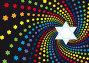 Абстрактный фон к еврейскому празднику, иллюстрация № 1247678 (c) Олеся Сарычева / Фотобанк Лори