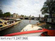 Купить «На каналах Амстердама», фото № 1247966, снято 9 августа 2009 г. (c) Филонова Ольга / Фотобанк Лори
